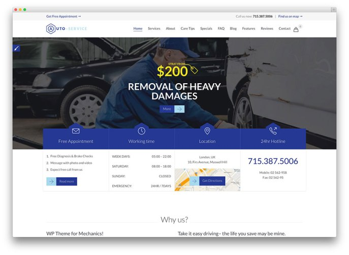 auto-carrepair-theme