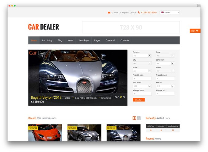 cardealer-wordpress-theme