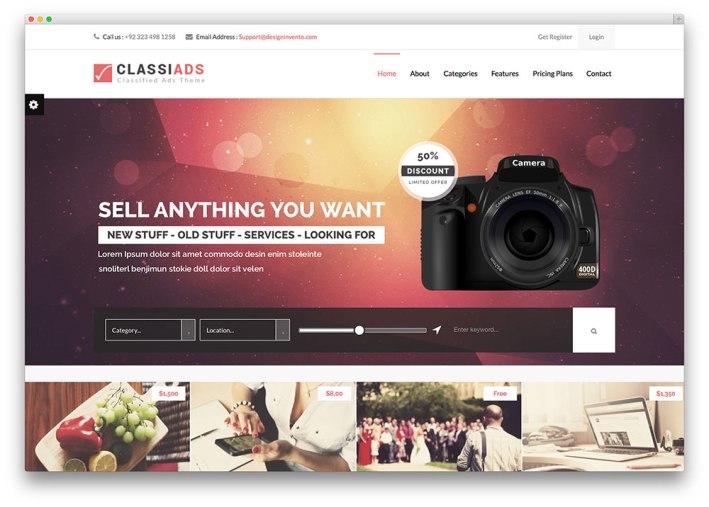 classiads-flat-design-theme
