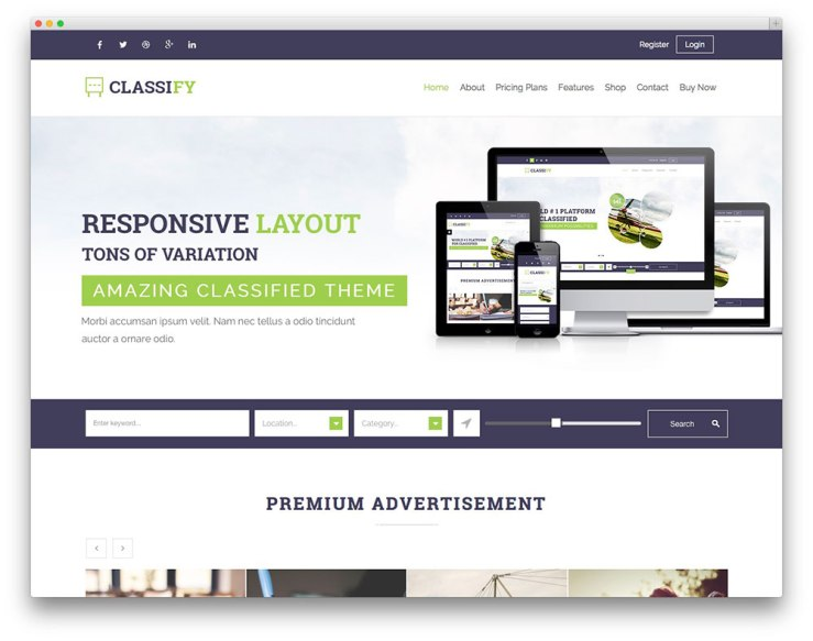 Classify-wordpress-theme