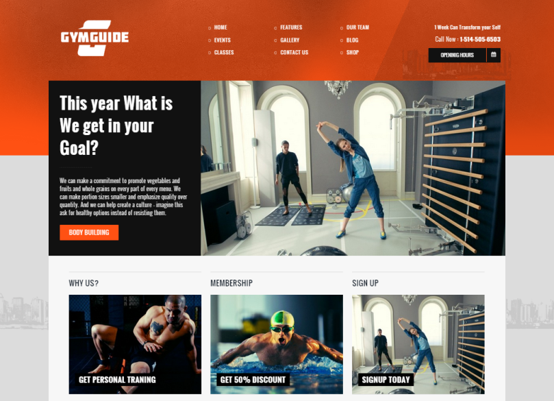GymGuide-wordpress-theme