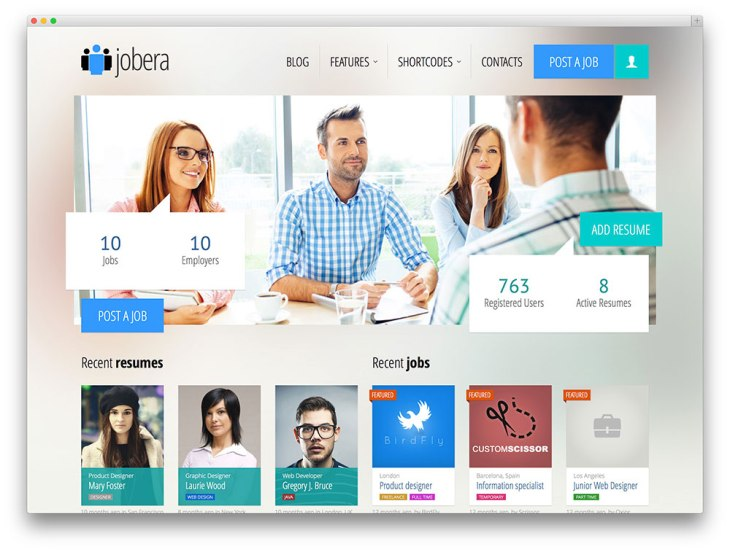 jobera-job-board-theme