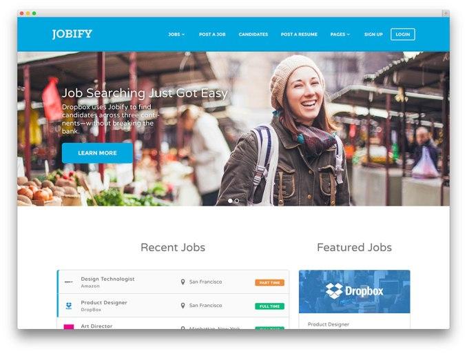 jobify-jobboard-theme